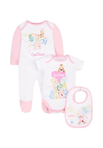 Mothercare | Girls Care Bears 3 Piece Set - Pink