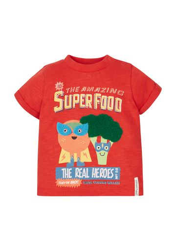 Mothercare | Boys Superfood T-Shirt - Red