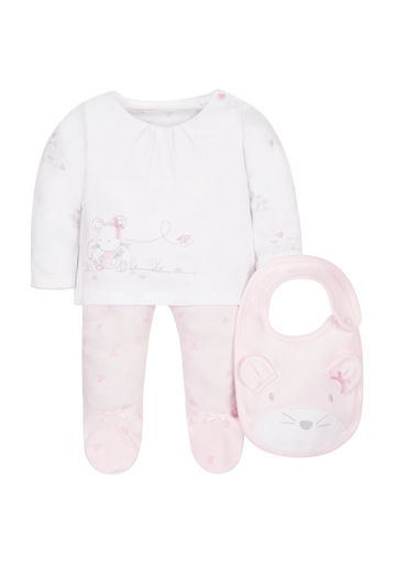 Mothercare | My First Leggings, Top And Bib Set