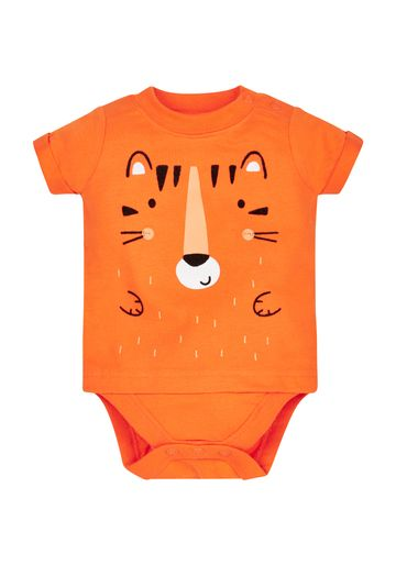 Mothercare | Boys Tiger Bodysuit - Orange