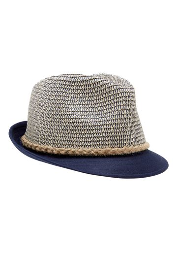 Mothercare | Boys Two Tone Straw Hat - Navy