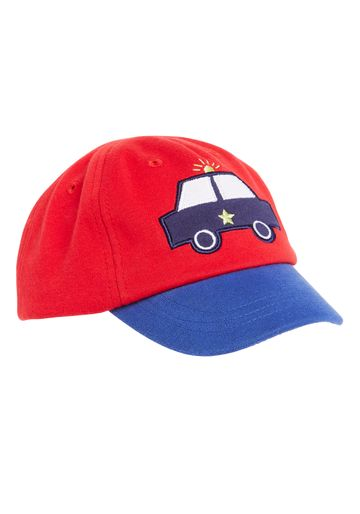 Mothercare | Boys Police Car Cap - Red