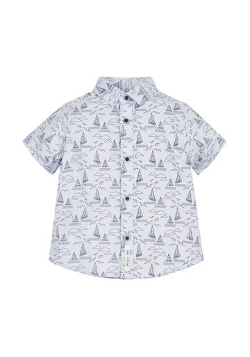 Mothercare | Boys Boat Shirt - Blue