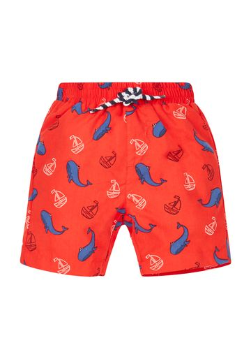 Mothercare | Red Boys Whale Swim Shorts