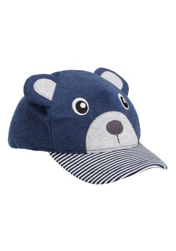 Mothercare | Blue Boys Bear Cap