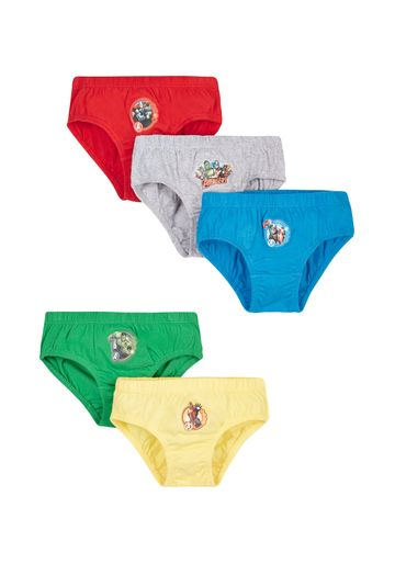 Mothercare | Boys Marvel Avengers Briefs - 5 Pack - Grey