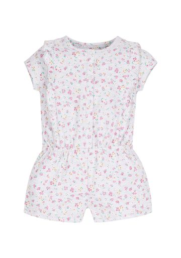 Mothercare | Girls Floral Playsuit - Grey
