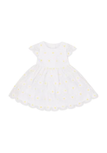Mothercare | Girls Daisy Dress - White