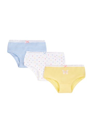 Mothercare | Girls Spotty Hipster Briefs - 3 Pack - Pink