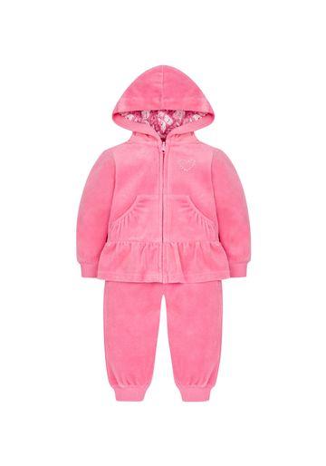 Mothercare | Pink Velour Jogset