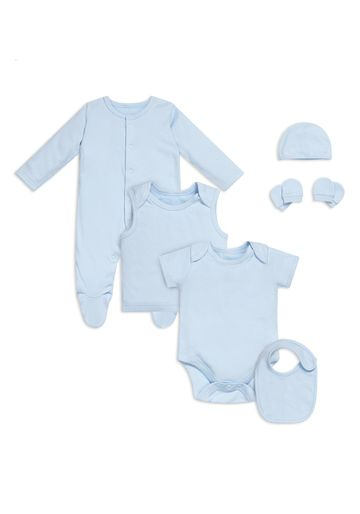 Mothercare   Boys 8 Piece Starter Set - Blue - Blue