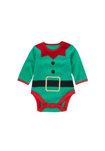 Mothercare   Unisex Elf Bodysuit - Green
