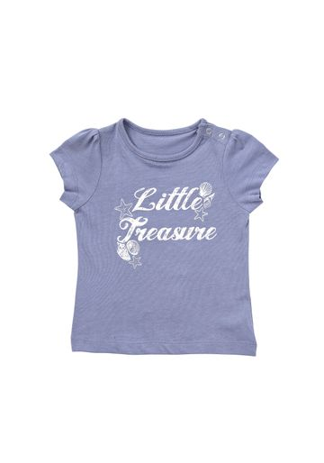 Mothercare | Girls Little Treasure T-Shirt - Blue