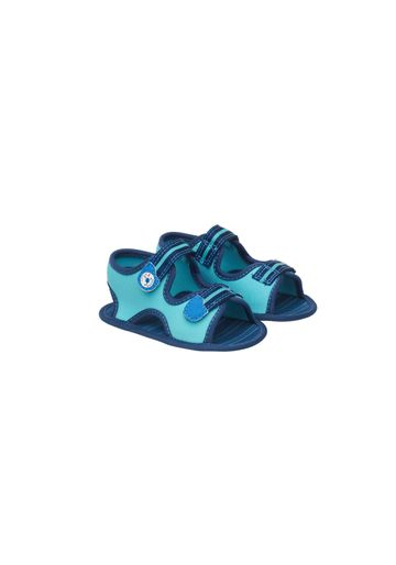 Mothercare | Boys Twin Velcro Sandals - Blue