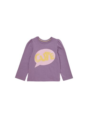 Mothercare | Girls Cute Long Sleeve T-Shirt - Purple