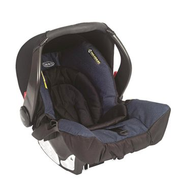 Mothercare | Graco Car Seat Snugsafe EVO Navy Blue Blue