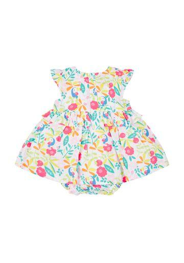 Mothercare | Girls Printed Romper Dress - Multicolor