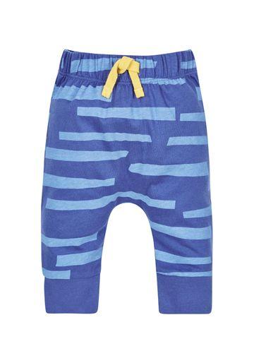 Mothercare | Unisex Zebra Joggers - Blue