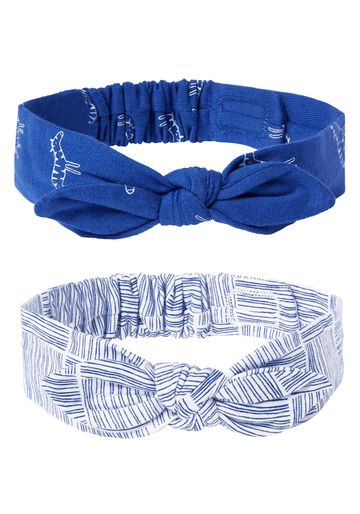 Mothercare | Girls Headbands - Pack Of 2 - Blue