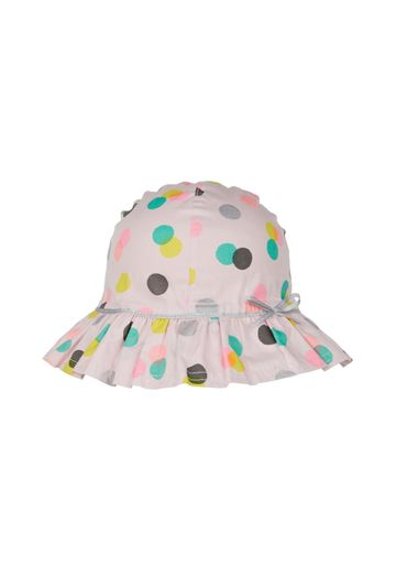 Mothercare | Girls Back To Nursery Spot Sun Hat - Pink