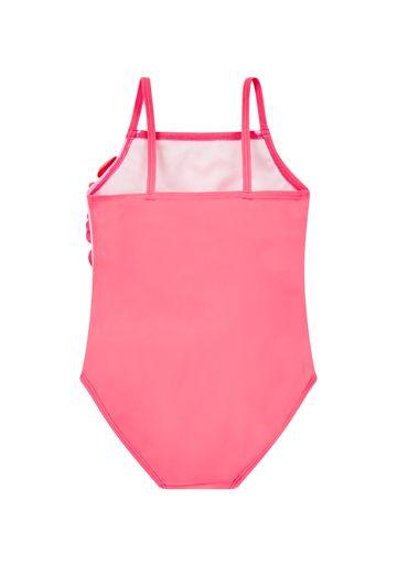 Mothercare | Girls Pink Flamingo Ballerina Swimsuit - Pink