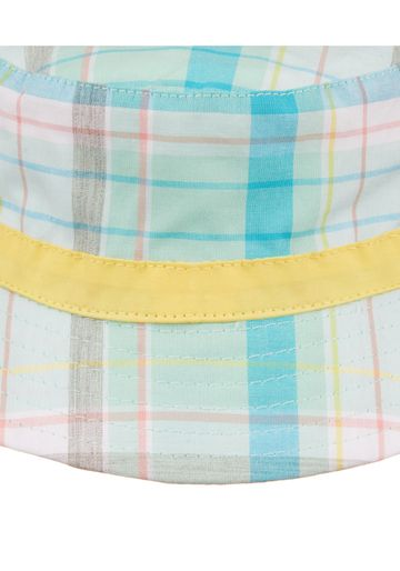 Mothercare | Boys Green Check Sun Hat - Green