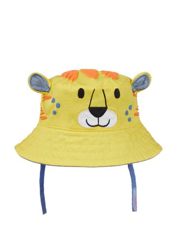 Mothercare | Boys Yellow Tiger Fisherman Sun Hat - Yellow