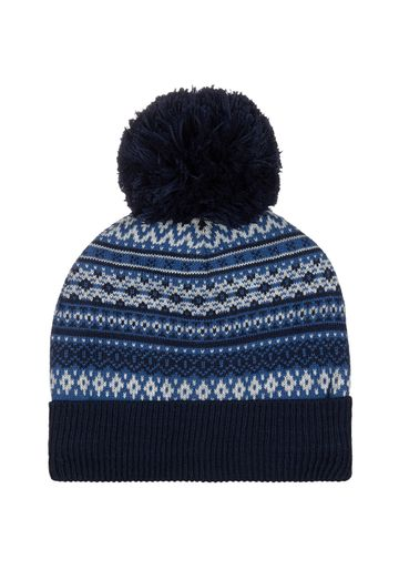 Mothercare | Boys Fairisle Beanie Hat - Blue