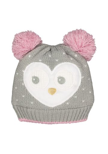 Mothercare | Girls Novelty Owl Beanie Hat - Grey