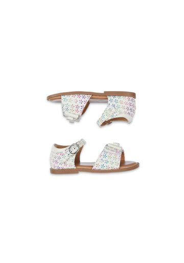 Mothercare | White Multicolour-Flower Sandals