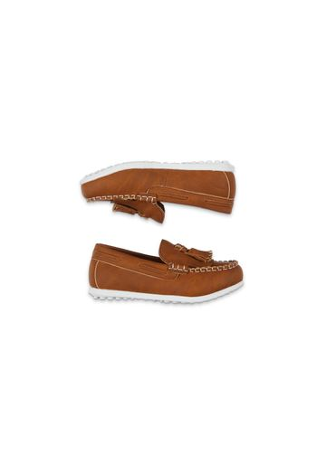 Mothercare | Boys Tan Tassel Loafer Shoes - Tan