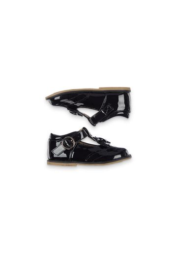 Mothercare   Girls Black Patent Back - To - School Shoes - Black