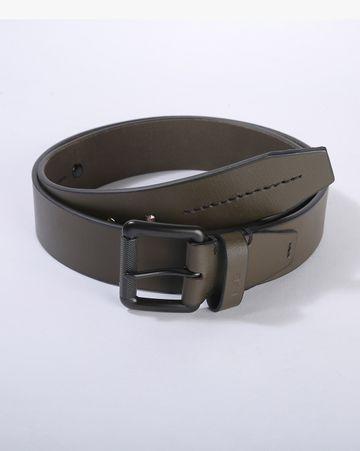 GAS | Men's Abhik  Green Solid belt