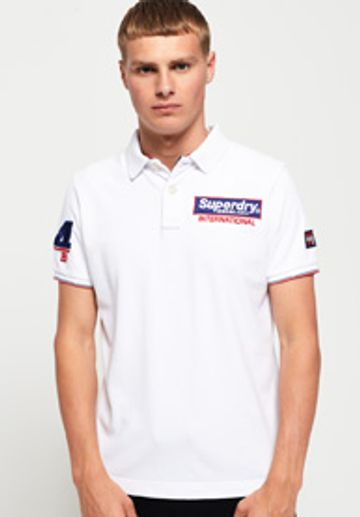 Superdry | Superdry White Men Polos