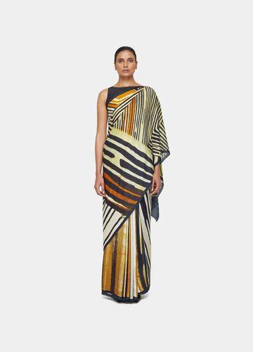 SATYA PAUL | Satya Paul Stripe Play Sari
