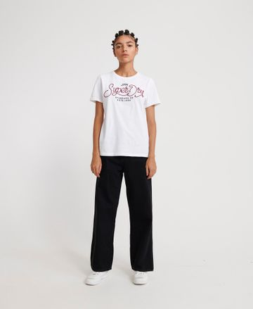 Superdry | ROYALTY SCRIPT ROPE APPLIQUE ENTRY TEE