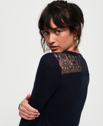 Superdry | LACE BACK GRAPHIC TOP