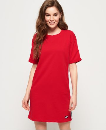 Superdry | GEORGIA SHORT SLEEVE SWEAT DRESS