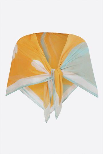 SATYA PAUL | Satya Paul Furano Flat Silk Chiffon Scarf