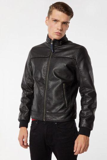 GAS | Black Men's Mix Eco Solid Jacket
