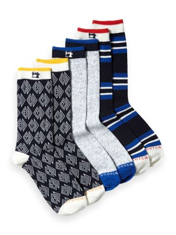 Scotch & Soda | Classic socks in recycled cotton blend