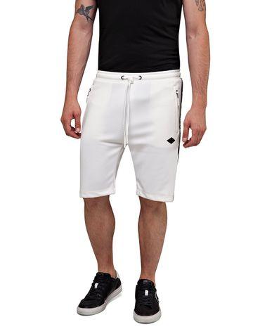 REPLAY | White Tech Fleece Shorts