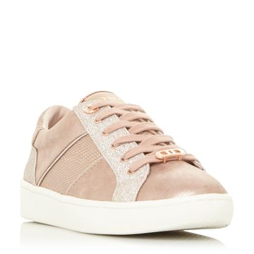 Dune London | Rose Gold Sneakers