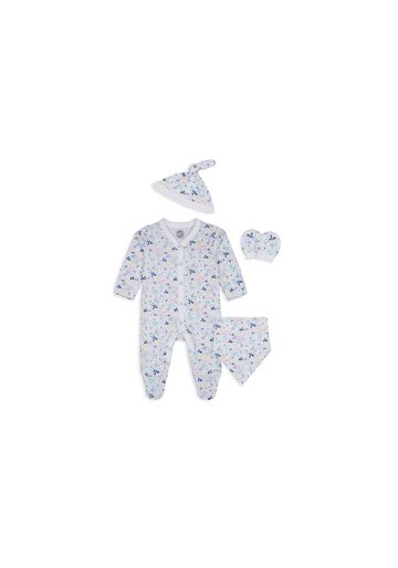 Mothercare | Girls 4 Piece Set Floral Print - White