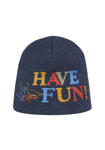 Mothercare | Boys Beanie Dino And Text Print - Grey