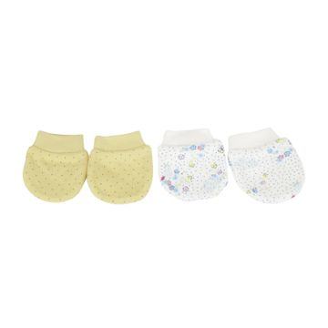 Mothercare | Girls Floral print Mitts - Pack of 2 - Multicolor