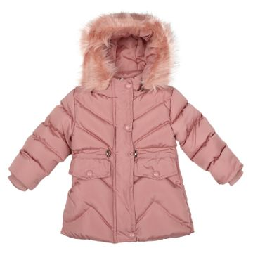Mothercare | Girls Full sleeves Jacket - Dark Pink
