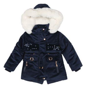 Mothercare | Girls Full sleeves Jacket - Navy