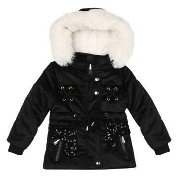 Mothercare | Girls Full sleeves Jacket - Black