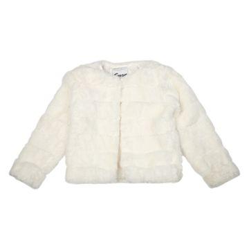 Mothercare | Girls Full Sleeves Jacket - White